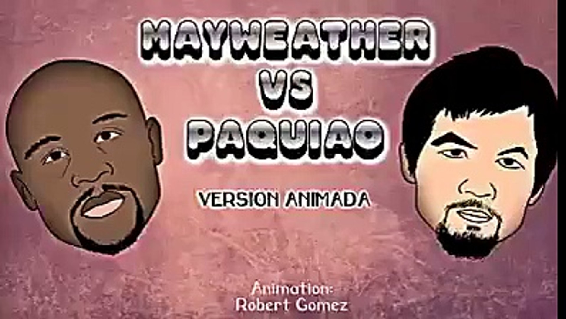 One version of how Floyd Mayweather vs. Manny Pacquiao is going to  One version of how Floyd Mayweat