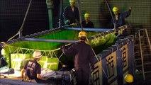 海遊館ジンベエザメ搬入・搬出 Osaka Aquarium KAIYUKAN WHALE SHARK Transportation