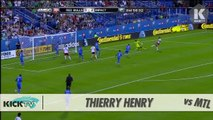 Thierry Henry Perfect Chip GOAL vs Montreal Impact