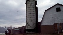 The way of the Amish; Silo demolition.
