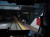 Cab view ride of Link light rail from Westlake to SODO Station