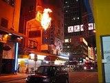 Electrical fire breaks out in Mong Kok, Hong Kong