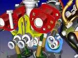 Ducati 1098 motore 3D drawing engine