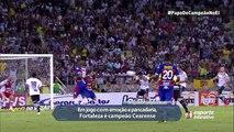 Um jogo como Fortaleza x Ceará mereceu duas narrações de título! Se liga no Fim de Papo!