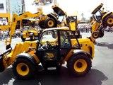 JCB Dancing Diggers Conexpo 2008