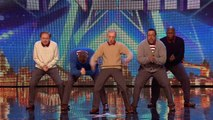 Old Men Grooving bust a move, and maybe their backs! - Britain's Got Talent 2015