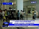 Stolen items found in airline baggage handlers' lockers