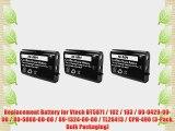 Replacement Battery for Vtech BT5871 / 102 / 103 / 80-0429-00-00 / 80-5808-00-00 / 89-1324-00-00