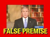President Bush's False Premise on Iraq War and Terrorism