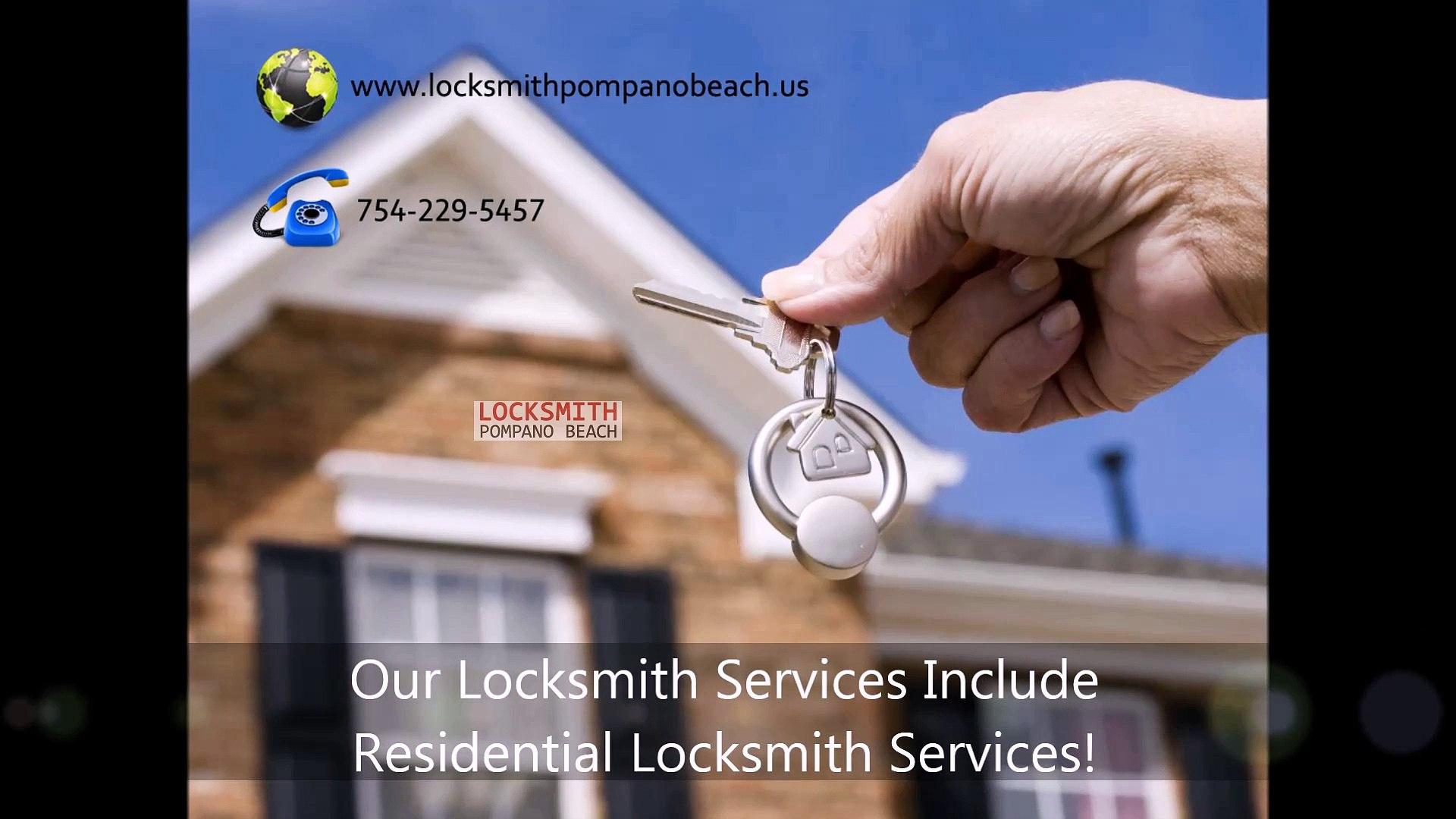Locksmith Pompano Beach | (754) 229-5457