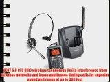 Plantronics Professional Lightweight Single-line 2.4GHz Cordless Convertible Noise Canceling
