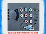 iDGLAX Dream Land DG-737 LED HDMI Projector 1080P HD Compatible (Native 800 x 480) for Home