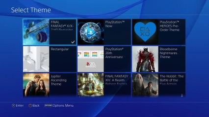 Final Fantasy X X-2 HD theme dynamique PS4 de Final Fantasy X | X-2 HD Remaster