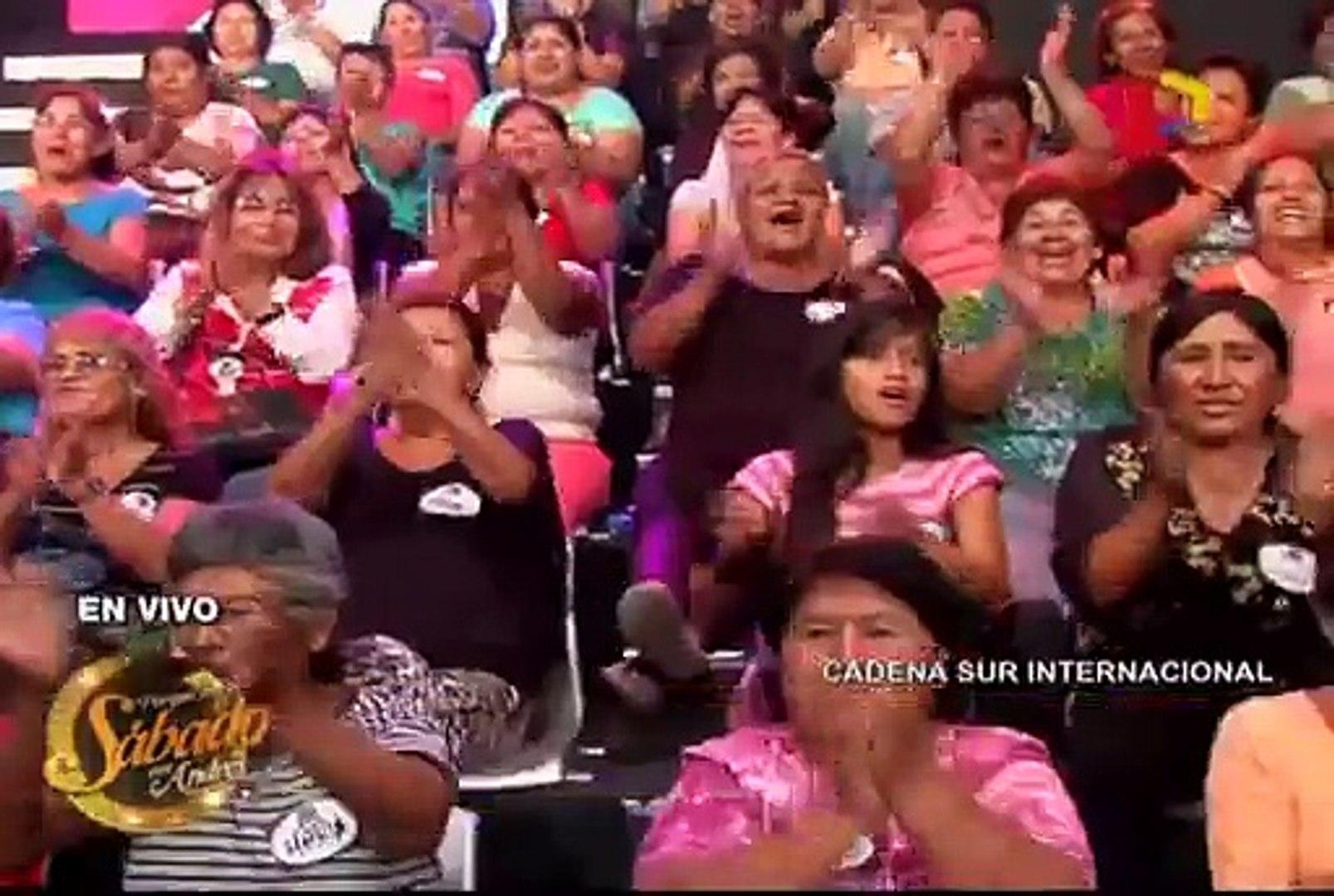 Porque hoy es Sábado: Andrés Hurtado 'botó' a Edwin Sierra de su programa en vivo