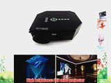 Aketek? UC30 100 150 Lumens Hdmi Portable Mini LED Projector Home Cinema Theater AV/VGA/USB/SD/Micro