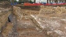 Fouilles archéologiques sur le site de Ville Evrard à Neuilly-sur-Marne