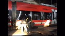 Graffiti Train Bombings Zugzwang ABM CREW HD