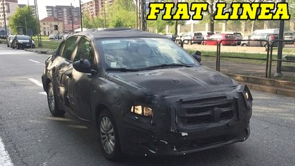 New 2016 Fiat Linea Spotted Testing