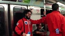 Los Supercívicos : Los bocineros del metro
