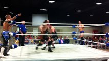 """The Exclamation Po!nt"" Steve Anthony & ""Dirty"" Andy Dalton vs. Apoc & Barrett Brown - NWA Bayou Independent Wrestling"