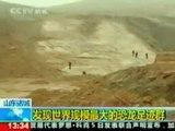 Hallan huellas de dinosaurio en China (Erbol/Atlas)