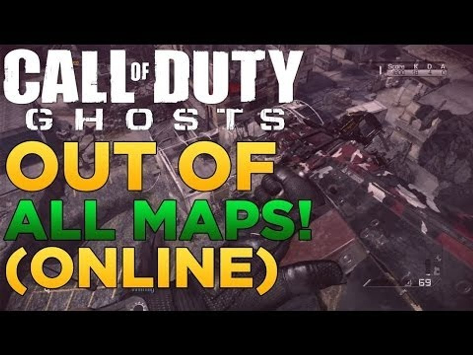 Call of Duty: Ghosts - Out Of All Multiplayer Map Glitch! ONLINE PS3 Ghosts Maps on