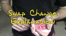 The Snap Change - CARD TRICK TUTORIAL