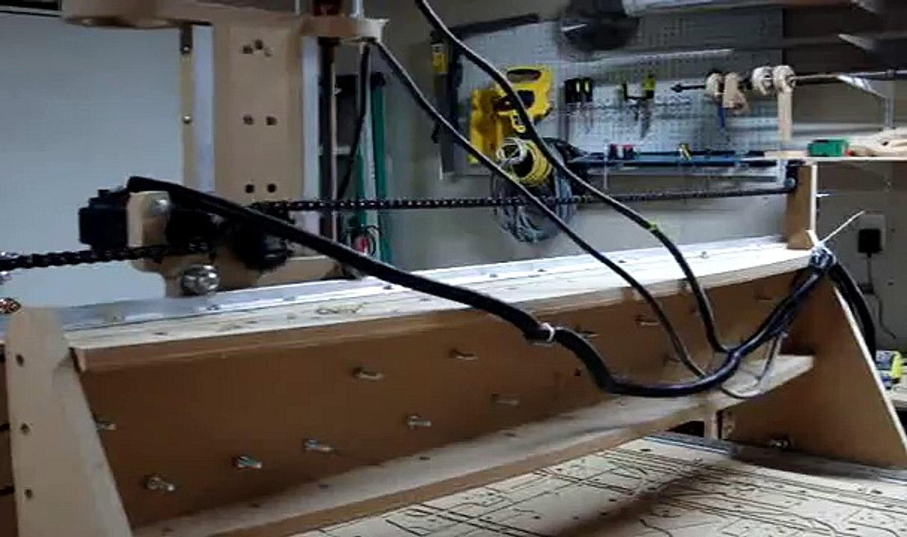blackFoot 4x8 CNC Machine Demonstration
