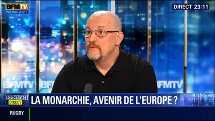 """François Asselineau vs Eric Rossand_""""Hondelatte Direct"""" - « LA MONARCHIE AVENIR de L'EUROPE ? »"""