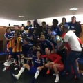 Chelsea FC Champions 2014/15  Dressing Room Celebrations