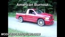 American Burnouts Versus Australian Burnouts