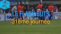 Championnat National 2014-2015 - 31e journée - Les buts