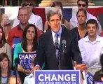 Senator John Kerry endorses Barack Obama