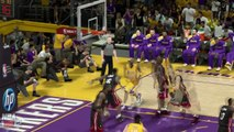 Kobe Bryant Epic Dunk Over Lebron James & stare down - NBA 2K12