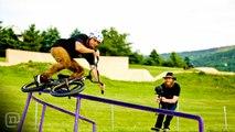 Camper, Counselor & BMX Pro Brian Kachinsky at Camp Woodward