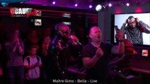 Maître Gims nous fait le plaisir de chanter Bella en Live - C'Cauet sur NRJ