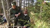 Zemessardzes 35.Nodrošinājuma bataljona lauka mācības Badelkā