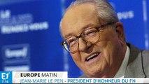 """Jean-Marie Le Pen : """"C'est une félonie"""" (Interview intégrale sur Europe1)"""