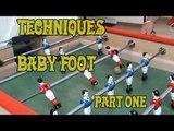 techniques de baby-foot