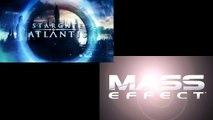 Mass Effect vs Stargate Atlantis: Side by Side