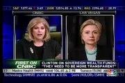 Hillary Clinton on the economy -- CNBC