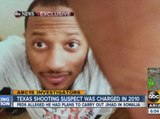 Texas shooting suspect Elton Simpson was charged in 2010.