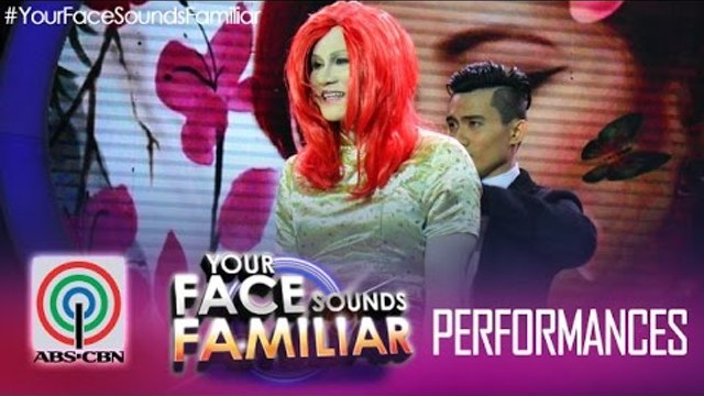 """Your Face Sounds Familiar: Tutti Caringal as Yeng Constantino - """"Chinito"""""""