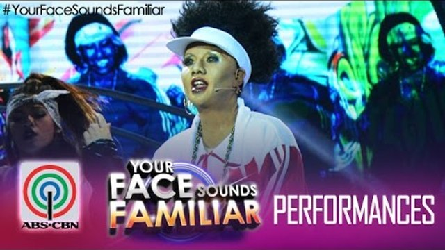 """Your Face Sounds Familiar: Maxene Magalona as Missy Elliot - """"Work It"""""""