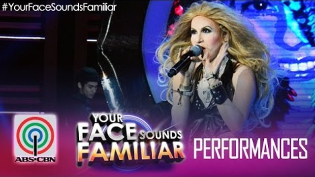 """Your Face Sounds Familiar: Jolina Magdangal as Shakira - """"Whenever, Wherever"""""""