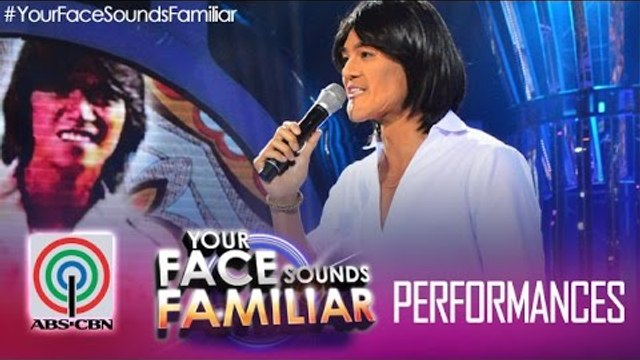 """Your Face Sounds Familiar: Jay R as Vic Sotto - """"Ipagpatawad Mo"""""""