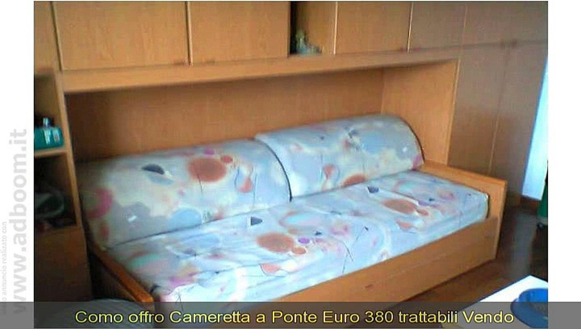 Cameretta A Ponte Come Nuova.Como Cameretta A Ponte Euro 380 Video Dailymotion