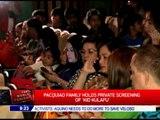 Pacquiao family holds private screening of 'Kid Kulafu'
