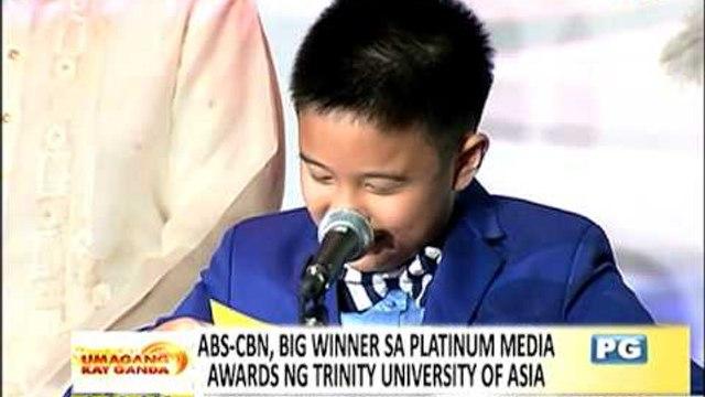 ABS-CBN dominates 1st Platinum Media Awards
