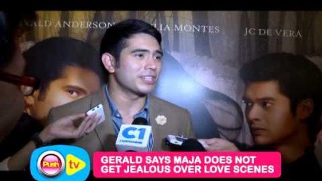 Gerald Anderson ikwinento na buong araw kinuhaan ang love scene nila ni Julia Montes